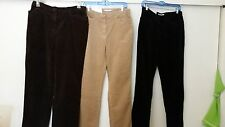 JONES SPORT STRETCH Angled Pocket Corduroy Pants NWT Choose Color & Size