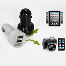 Mini Car Charger Adaptor Dual USB 2-Port for  iPhone 4 5S Samsung iPhone 6 Plus