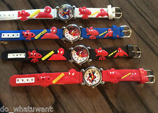 Children's Kids Spiderman 3D Quartz Novelty Watch