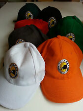 Tusker baseball caps ~ variety of colours ~ BN ~ adjustable