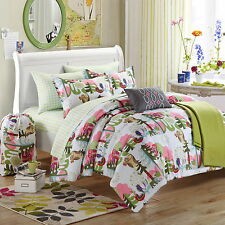 Chic Home Forest Owl 9 Piece Comforter Set