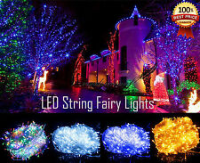 Waterproof In/outdoor Twinkling Lamp 20/50/100 LED Battery Fairy String Lights