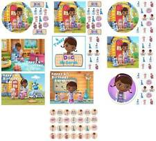 Personalised Doc McStuffins Cake or Cupcakes Toppers.
