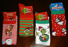 Womens Christmas Holiday Licensed Knee-High Socks - Choose From 4 Designs - NWT!