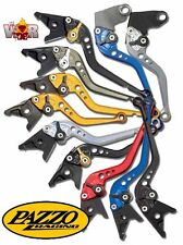 Kawasaki ZX6R ZX6RR ZX636 2000-04 PAZZO RACING Lever Set ANY Color and Length