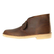 New Mens Clarks Originals  Desert Boots - Beeswax Brown  100% Leather