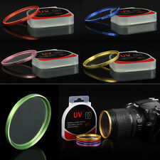 Colorful UV Ultra-Violet Filter Lens Protector For Camera Canon Nikon Sony DSLR