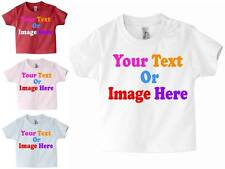 Custom Personalised Childrens Babies Toddlers T - Shirt Design Your Own T Shirt!