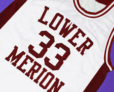KOBE BRYANT #33 LOWER MERION HIGH SCHOOL JERSEY WHITE  SEWN  NEW   ANY SIZE