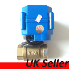 "1/2"" & 1"" DC12V Motorized Ball Valve, 2 Way  Port Electrical Valve, 2,3&5 Wires"