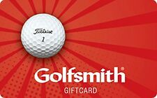 Golfsmith Gift Card - $25 $50 $100 - Email delivery