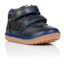 Camper Pelotas Navy Leather Boots