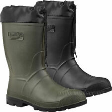 Kamik Rain Boots Mens Hunter Pull-on Waterproof Thermal Lined Rubber Boot Colors