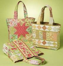 CRAFT/HOME DECOR SHOPPING BAGS SEWING PATTERN NEW/UNCUT M6094