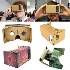 Fashion Google Cardboard 3D VR Virtual Reality Glasses Android 4.1 3D Viewing