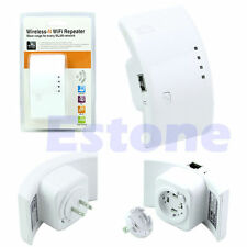 New Wireless-N WiFi Repeater 300Mbps 802.11n Router Signal Range Extender