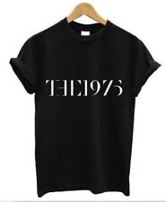 THE 1975 BLACK MENS T SHIRT TEE RETRO MUSIC INDIE ROCK FACEDOWN XMAS PRESENT TOP