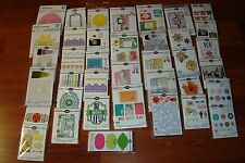 Sizzix Framelits, Thinlits & Triplits Die - Huge LOT- You Pick