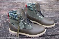 """Black Scale x Timberland 6"""" Premium OLIVE Boot BLVCK SCVLE LIMITED EDITION 6002B"""