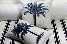 Home Decor Tropical Palm Tree Linen Pillow Case Sofa Cushion Cover Sham 2 sizes