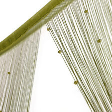 String Curtain Beads Panel Spangle Fringe Room Door Window Panel Blind Divider