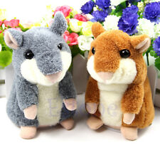 Lovely Plush Toys Talking Sound Record Mimicry Pet Electronic Hamster Kids Gifts