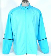 Nike Golf Blue Zip Front Stretch Windproof Wind Jacket Mens NWT