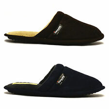 Mens New Coolers Warm Thinsulate Winter Flat Slippers Slip On Mules Shoes Size