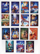 MODERN DISNEY MOVIE POSTER MAGNETS aladdin lion king little mermaid beauty beast