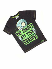 Boys Plants vs Zombies The Zombies ate your Brains Motif t-shirt top Ages 6-12