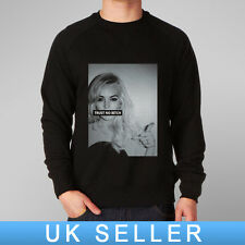 TRUST NO B1TCH UNISEX SWEATSHIRT: old skool hip hop rap music trapstar hype obey