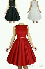 NEW AUDREY VINTAGE 1950's ROCKABILLY EVENING BRIDESMAID PROM PARTY DRESS N53