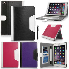 Folio Magnetic PU Leather Smart Cover Stand Case For iPad Mini iPad 2 3 4 Air 5