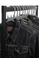 VINTAGE LEVI'S BLACK/GREY DENIM JACKET TRUCKER UNISEX XXS XS S M L XL
