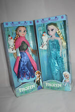 BNIB Frozen Dolls Set  Elsa&Anna & Olaf Toy Figure Disney Princess Xmas Gift