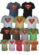 Superman Mens T-Shirt Sizes Small - XXL Various Colours