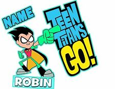 Teen Titans Go T-shirt Child size tee Robin  personalized