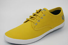 Fred Perry FOXX TWILL (( Men UK Size 7 EUR 41 )) Casual Summer Footwear Amarillo