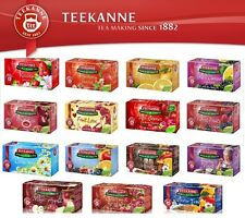 Teekanne Fruit Tea Bagged Naturally Caffeine free in 15 different flavours