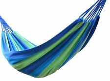Outdoor Camping Travel Hammock Canvas Cotton Sleeping Bed Portable Hanging Chair