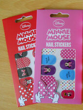 Disney Original Minnie Mouse RED/PINK Nail Stickers Perfect *Christmas Stocking*