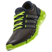 Mens Adidas Adipure Crazy Quick Running Sneakers New, Gray Solar Slime G98578