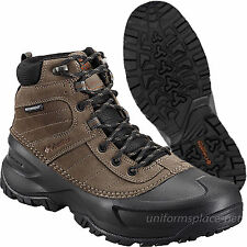 Columbia Leather Boots Men Snowblade Waterproof Lace up Snow Winter Insulation