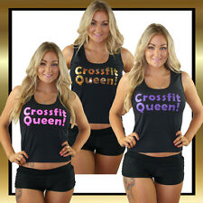 Juicee Peach Novelty Singlet - Crossfit Queen