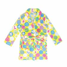 "Tweenklz Girls'  ""Love Stamp"" print Plush Coral Fleece Robe"
