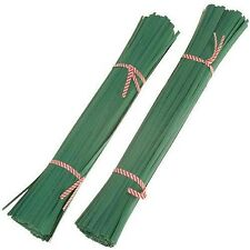 200mm Long Green Plant Twist Ties - Plants, Tomatoes, Shrubs, Flowers and More