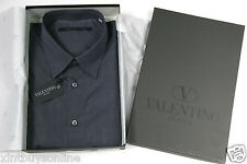 Valentino  Shirt # JC0004 Col # 0980 Valentino 100% Cotton Relaxed Fit Valentino