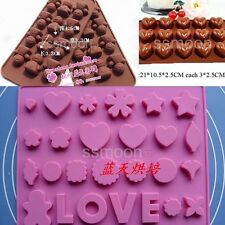 NoveltyHeart/Human Silicone mold   chocolate/ice cube/cake Pan  Randomly color