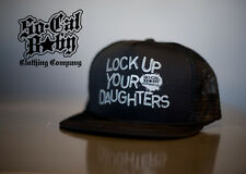 SoCal Lock Up Your Daughters Mesh Cap Tattoo Truckers Baby & Kids Hat Birth Gift