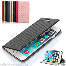 New Design Stand Wallet Leather Flip Case Cover For Apple iPhone 6 6s Plus